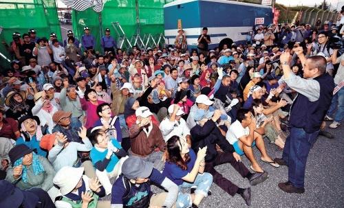 辺野古座り込み500日 1000人集結「闘い、大きな成果」 - 琉球新報 - 沖縄の新聞、地域のニュース