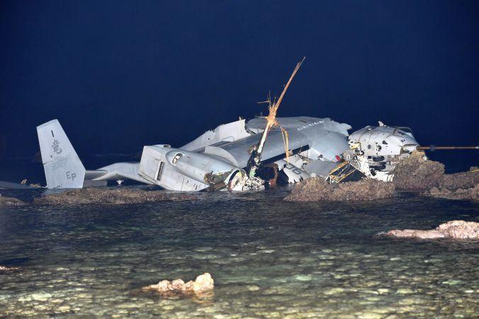 オスプレイ 墜落 沖縄 に対する画像結果