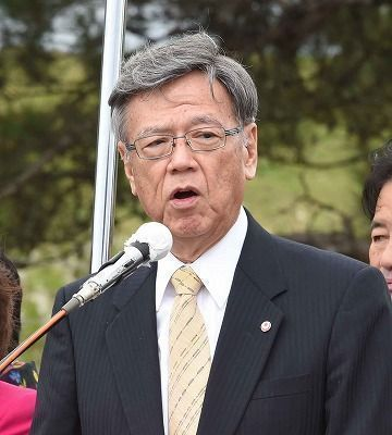 埋め立て承認撤回「必ずやる」と翁長知事明言 辺野古新基地建設